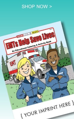 Emt's Help Save Live Coloring book