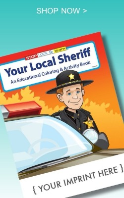 Your Local Sheriff Coloring Book